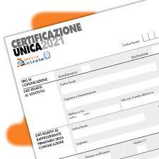 16.02.2021 – Newsletter 13-2021 CU 2021 lavoratori autonomi occasionali